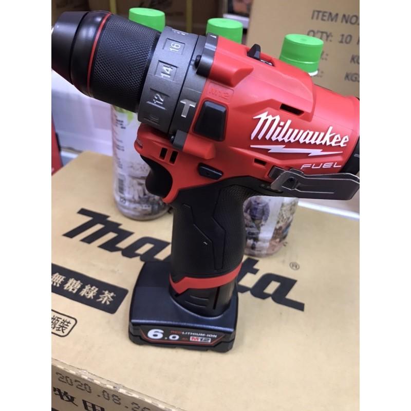 花電 全新 公司貨 米沃奇 milwaukee M12 FPD無刷震動三用電鑽 保證單主機