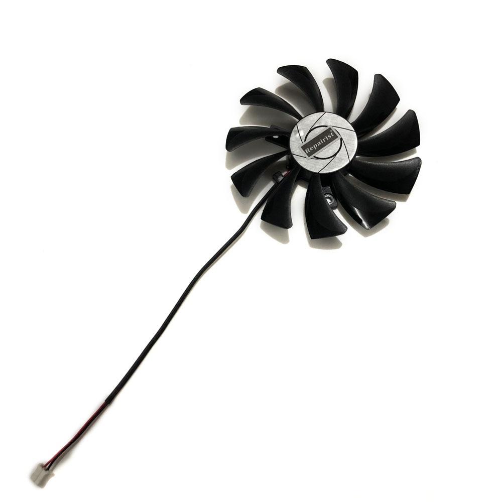 用於 MSI Geforce GTX 1050Ti 4G OC 圖形卡冷卻器的 85mm A 2Pin GTX1050T