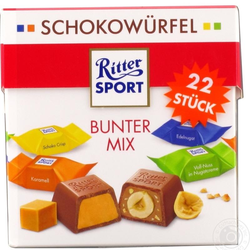 結單日請參考商場介紹內有註明 德國 Ritter Sport 精選盒 22入 經典綜合 感謝組合 兩款