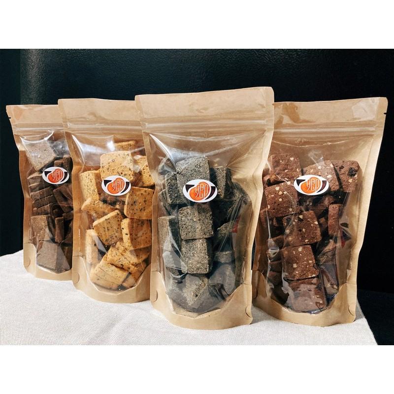 卿食坊《豆渣餅乾》單口味區/無蛋無奶/手工餅乾/奶油餅乾/營養豆渣/大袋/小袋