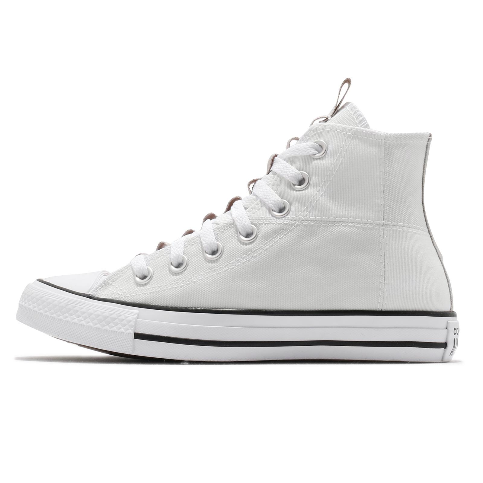 Converse 休閒鞋 Chuck Taylor All Star 白 灰 男女鞋 高筒 【ACS】 170131C