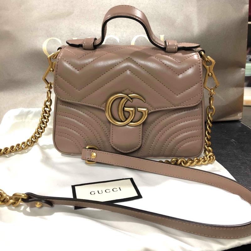 Gucci marmont 小書包