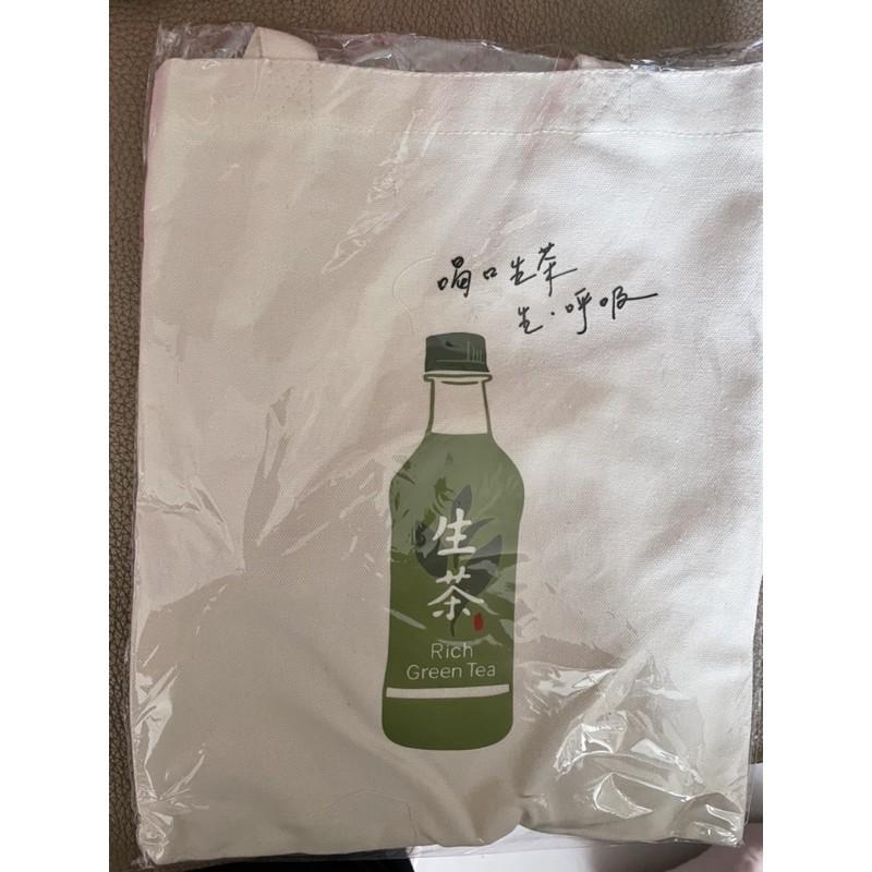 日本生茶帆布購物袋 家樂福滿額禮