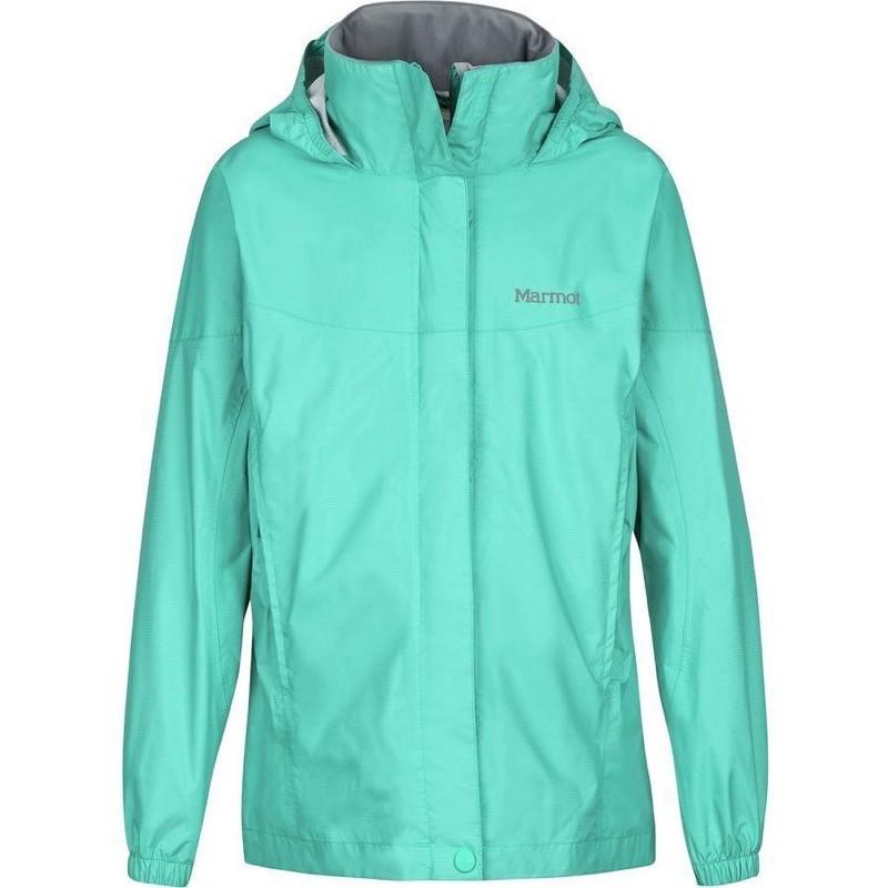 "Marmot Girls' PreCip Eco Jacket ""女孩款"" 環保防水透氣外套美版S"
