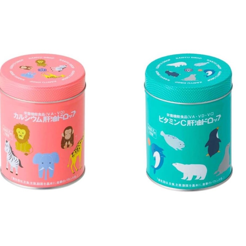 日本🇯🇵代購—日本境內版康喜健鈣兒童魚肝油
