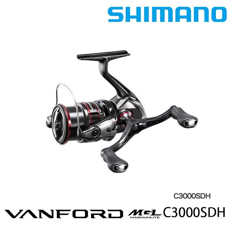SHIMANO 20 VANFORD C3000SDH [漁拓釣具] [紡車捲線器]