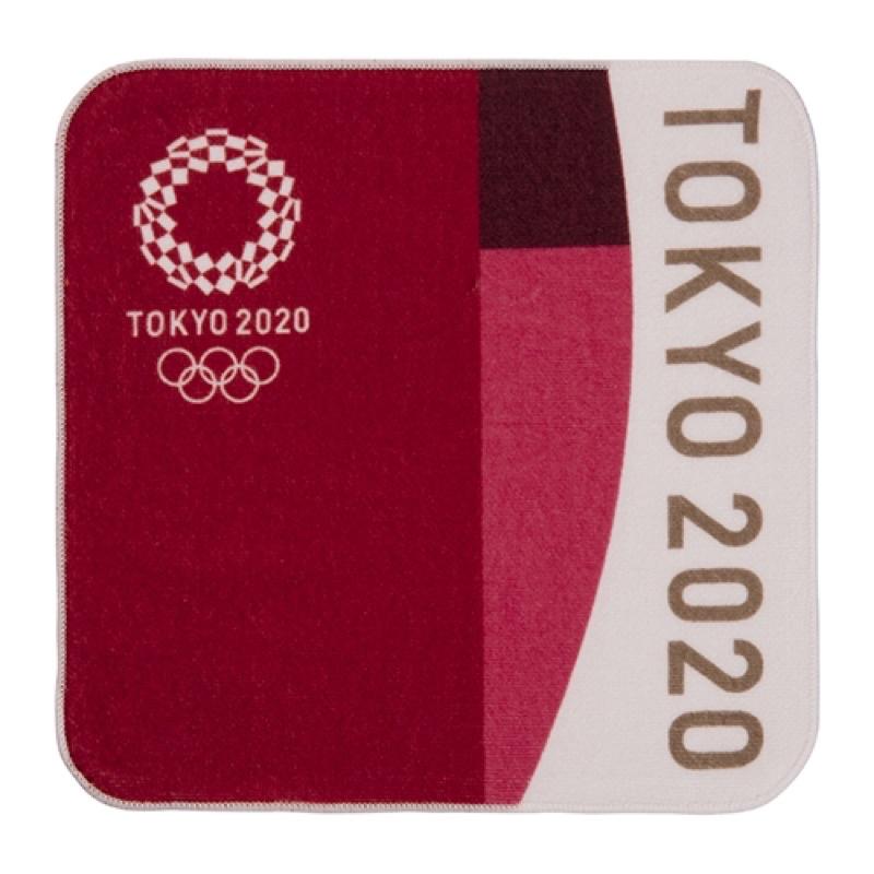 東京奧運 紀念品 手帕 小方巾