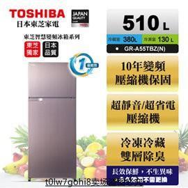 【TOSHIBA 東芝】510公升雙門變頻冰箱 GR-A55TBZ(N)典雅金 (含基本安裝+舊機回收)