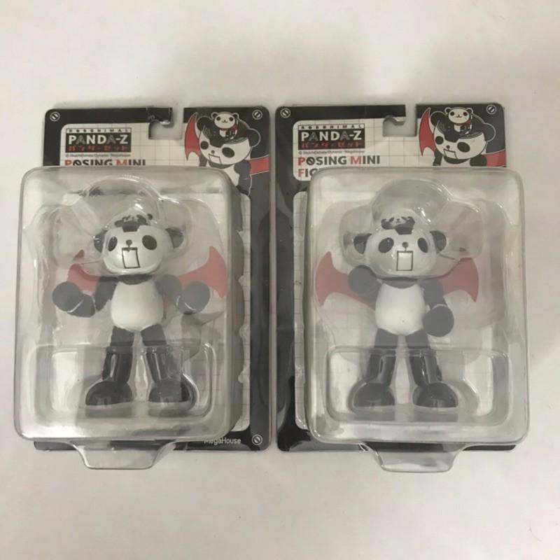 日本購回 正版 Panda-Z 熊貓鐵金剛 2款合售