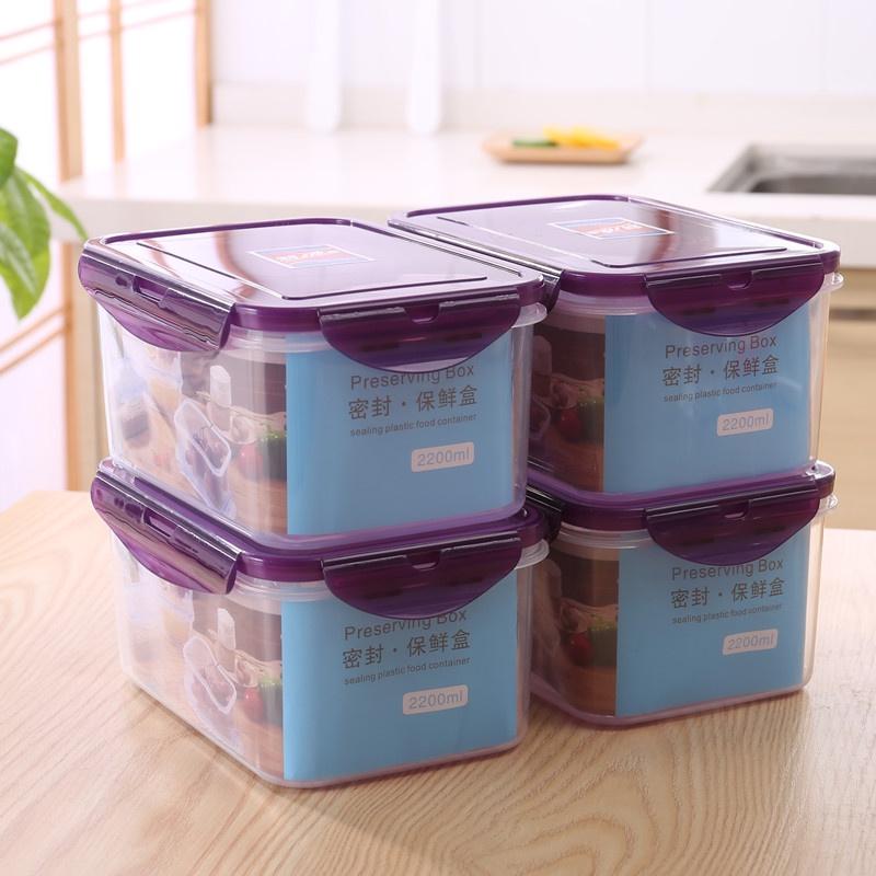 现货薄型保鮮盒 薄型收納盒 冰箱收納 食物分裝 分裝收納 食物收納 冷凍保鮮盒 微波炉专用饭盒 好市多分裝