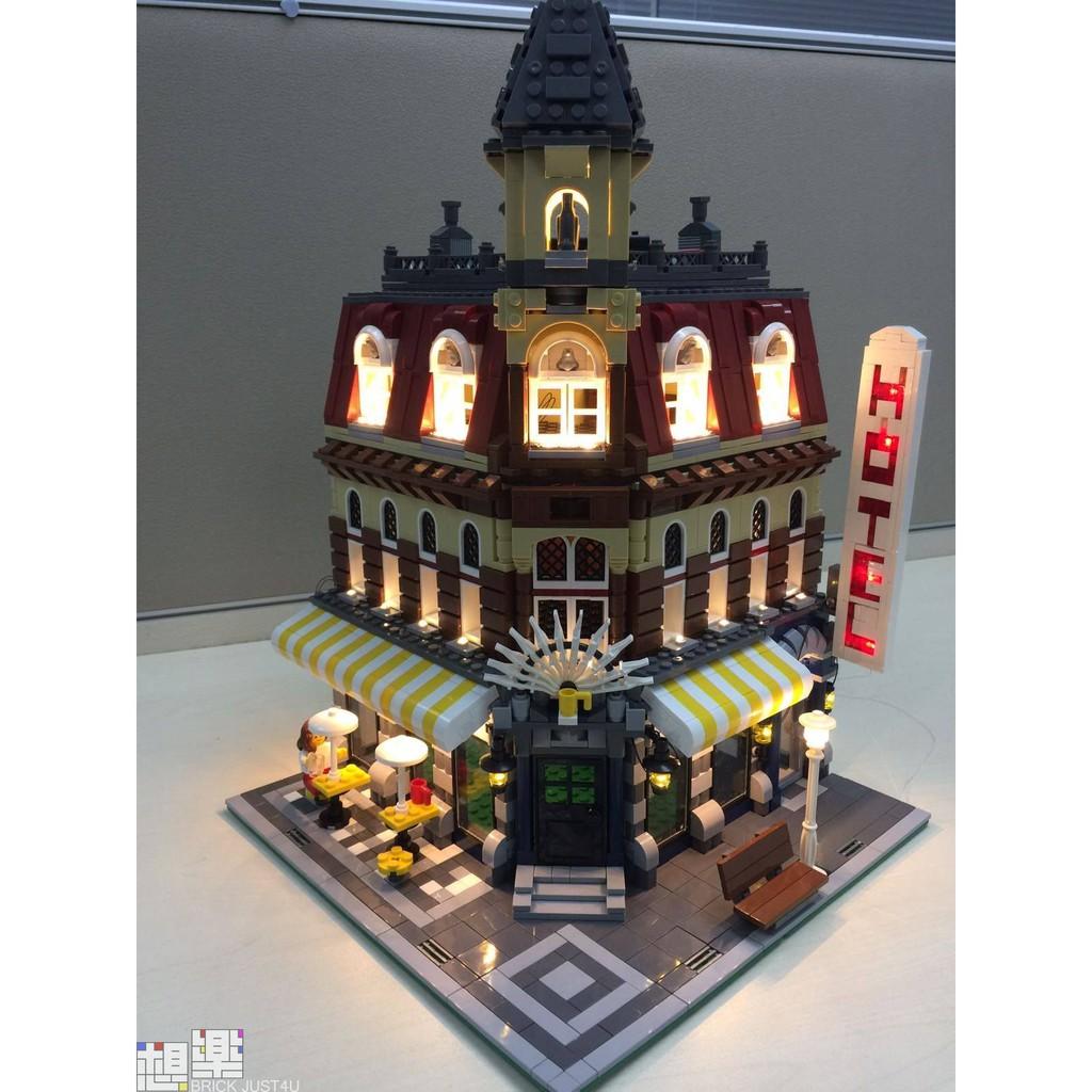 [想樂]『LED燈組(不含盒組)』樂高 燈組 Lego Light 10182 轉角咖啡廳 (預購)