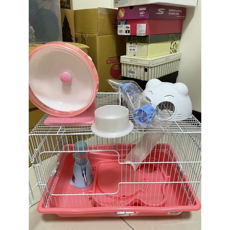 倉鼠籠/水壺/飼料碗/滾輪