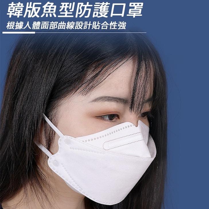 🇹🇼台灣出貨🇹🇼KF94口罩 韓國口罩 3D立體口罩 成人口罩 折疊口罩 魚形口罩 魚型口罩 口罩 防疫 魚嘴型kn95
