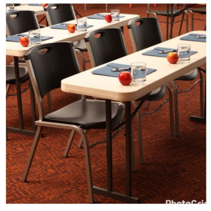 美兒小舖COSTCO好市多線上代購~Lifetime 可堆疊收納會客椅/會議椅/辦公椅(1組2入)