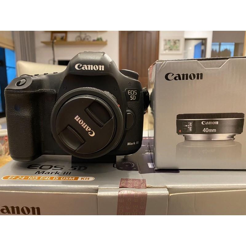 [二手]Canon 5D3 + Canon 40mm f2.8