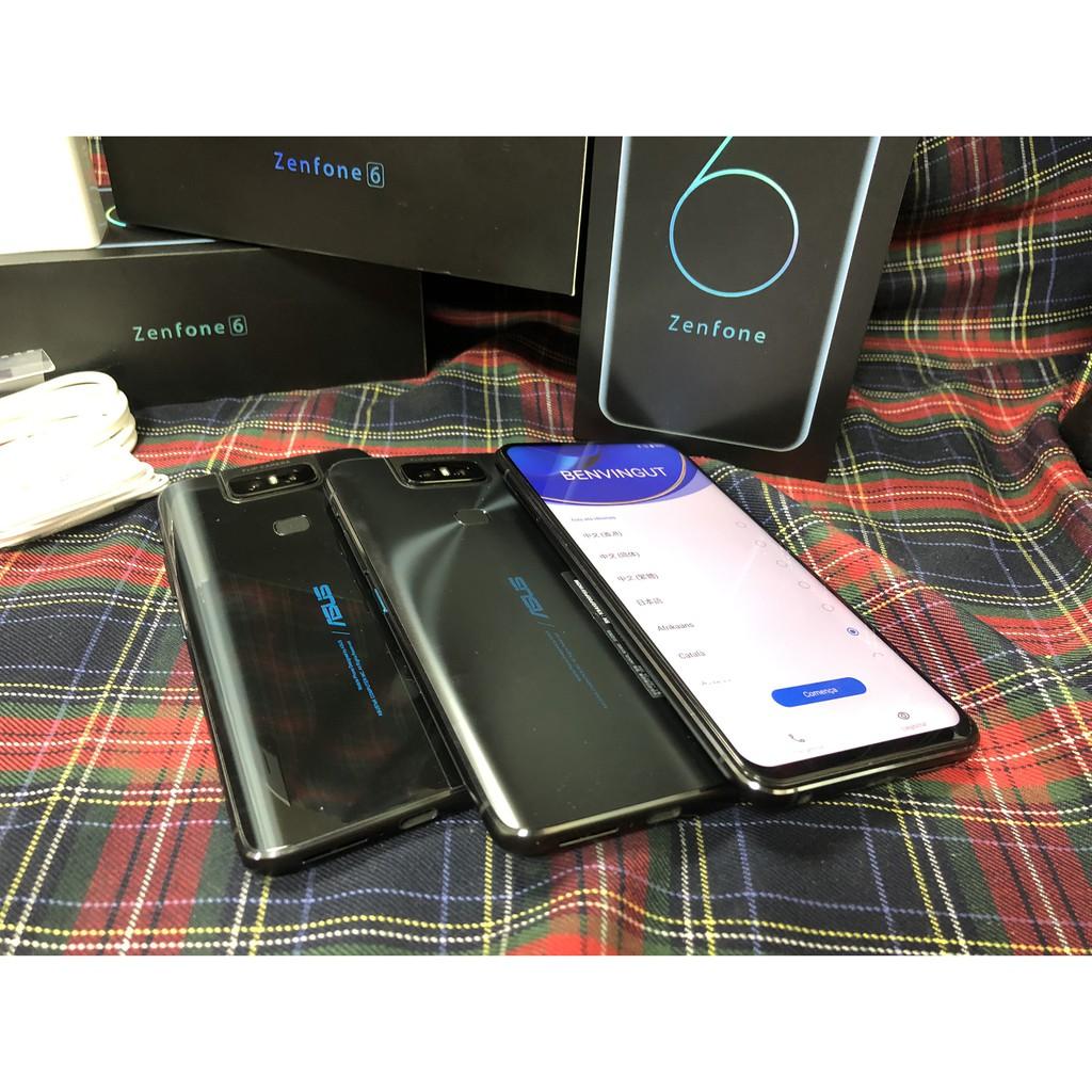 【拆封新品-聯強保固】ASUS ZenFone 6 (6G/128G) 6.4 吋翻轉相機智慧型手機 ZS630KL