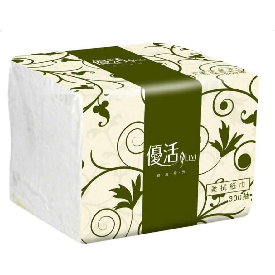 🌸CHEN MEI🌸🎶代購現貨!!廠商直出🎶優活 柔拭紙巾( 單抽式 ) 300抽 *30包 & 60包 & 90包 /
