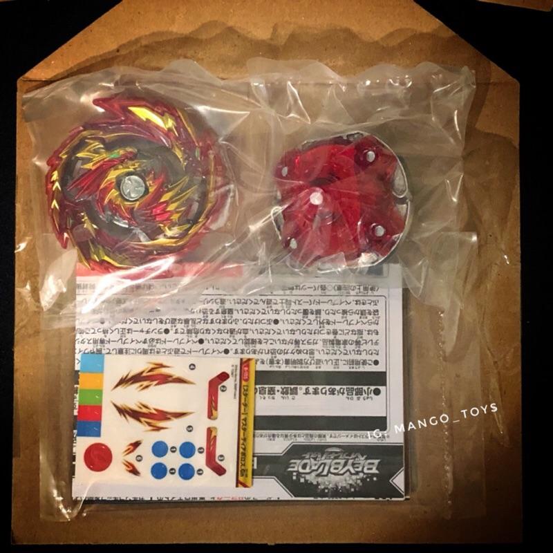 [現貨]TAKARA TOMY 戰鬥陀螺Burst B155 單購陀螺(無發射器)附盒子與點數