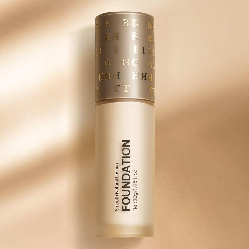 正品粉底液BB霜遮瑕控油裸妝不易脫妝持久隔離防水防汗