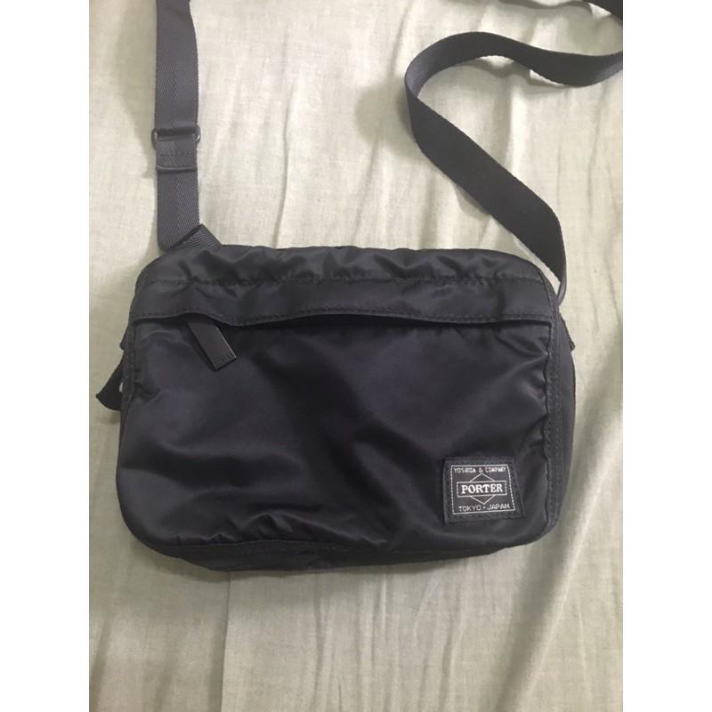 日本porter porter 斜背包 小包 側背包 二手
