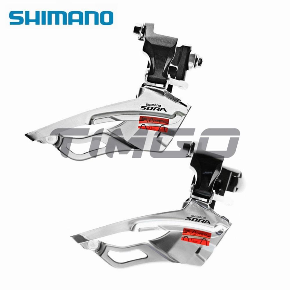 Shimano Sora Fd-3503 3 × 9 速公路自行車前撥鏈器 Braze-On / 夾式