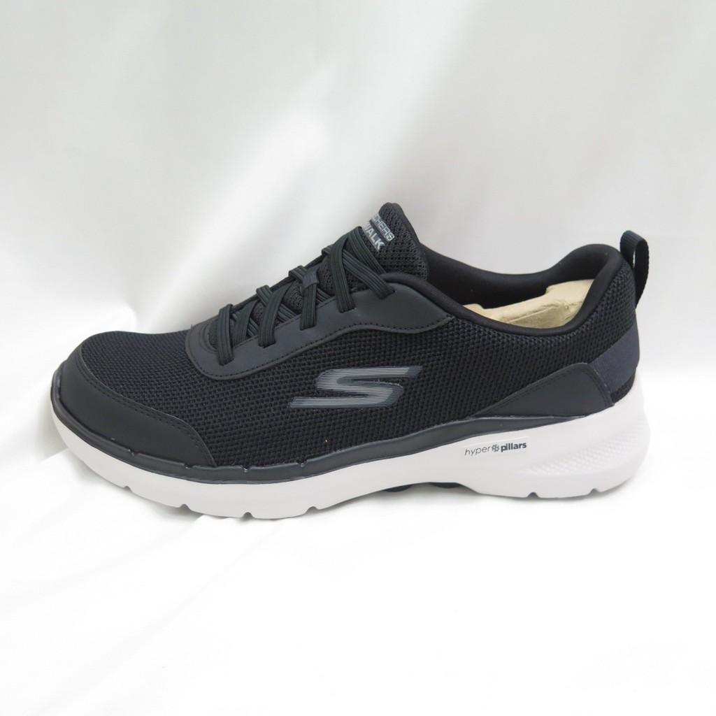 Skechers GO WALK 6 輕量 運動健走鞋 男款 216204BLK 黑【iSport愛運動】