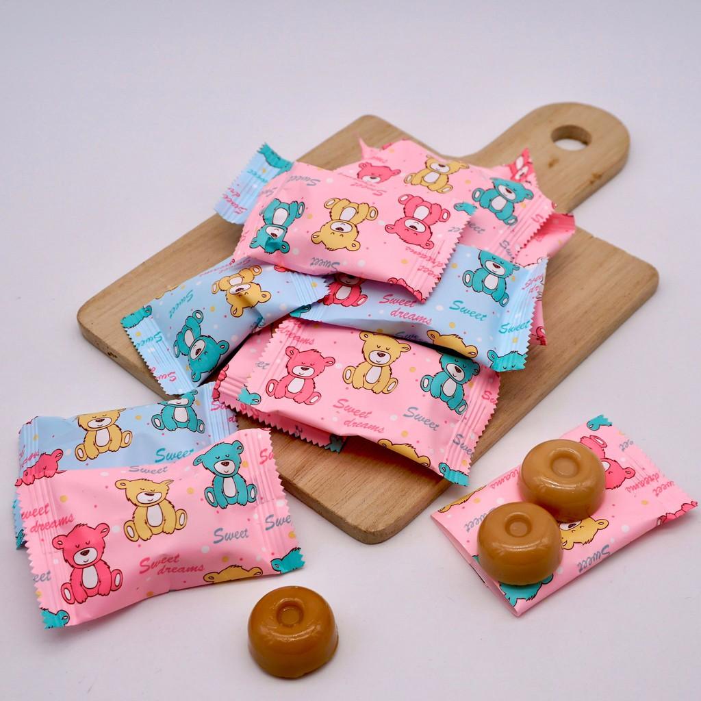 【嘴甜甜】甜甜熊牛奶糖 200公克 包裝糖果系列 奶油糖 奶素