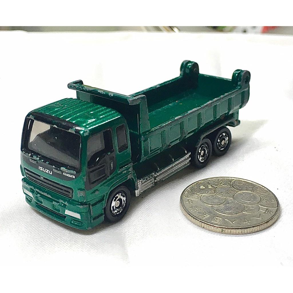 Tomica Isuzu Giga 綠色 砂石車 大貨車 大卡車 卡車 貨車 砂石 多美