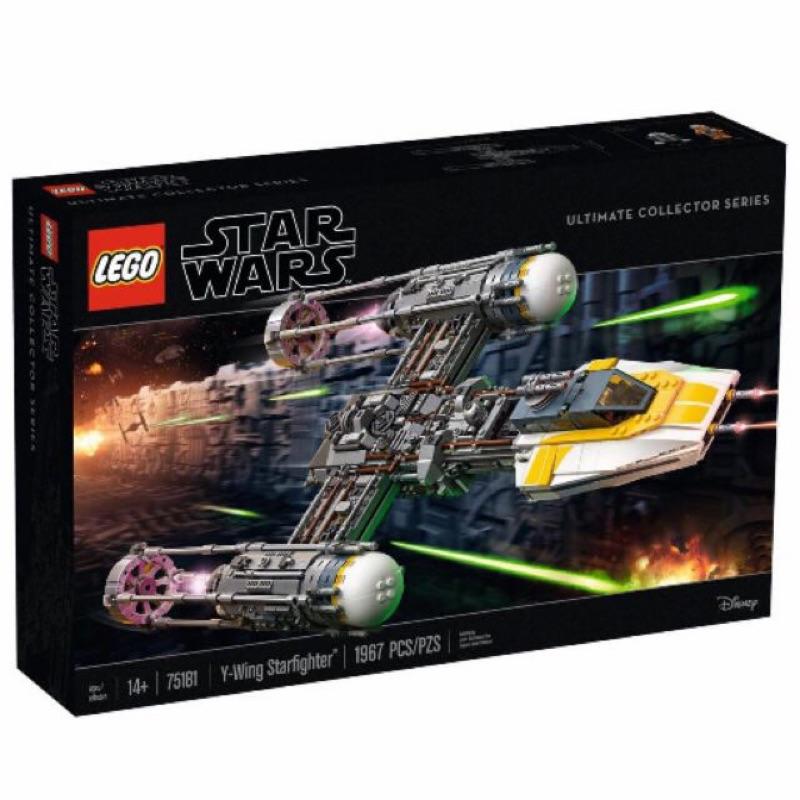 盒損[BrickHouse] LEGO 樂高 75181 星戰 UCS Y-WING STARFIGHTER 全新