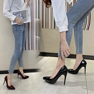 超大尺碼 大尺寸 11cm 高跟鞋 細跟鞋 女鞋 43號 26.5號 高跟鞋 11cm 大尺碼 大碼 現貨