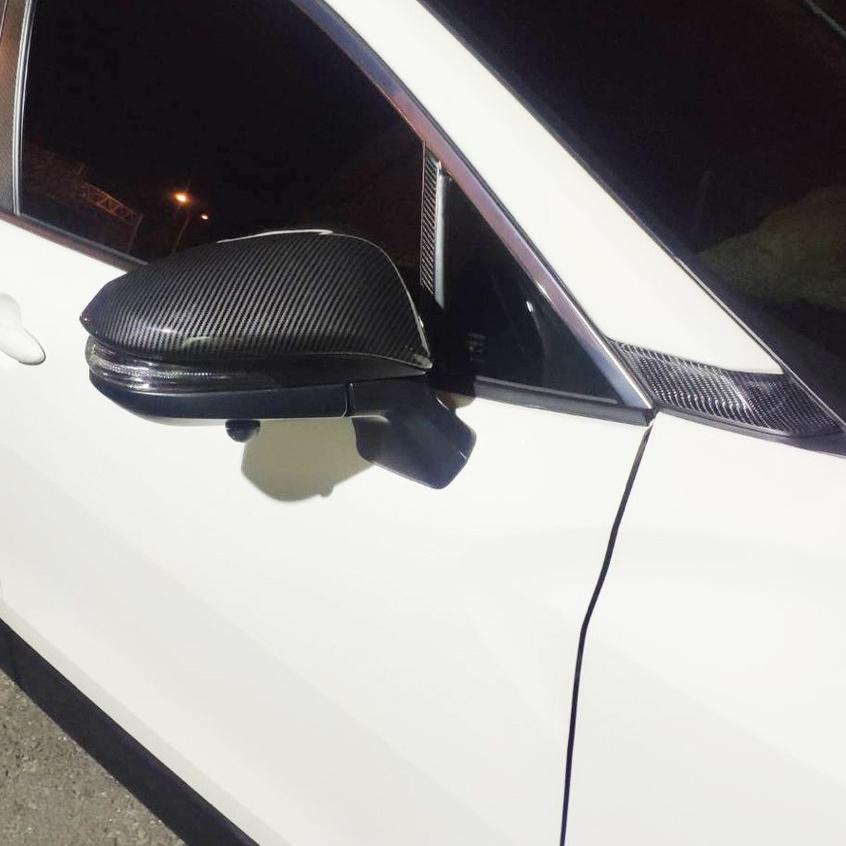 M Corolla Cross 專用 碳纖維 後視鏡罩 後視鏡蓋 後照鏡殼 防刮飾蓋 豐田 TOYOTA CC