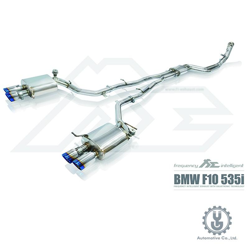 FI 高流量帶三元催化頭段 當派 排氣管 BMW  535i (F10/F11) 2010+ 底盤系統【YGAUTO】