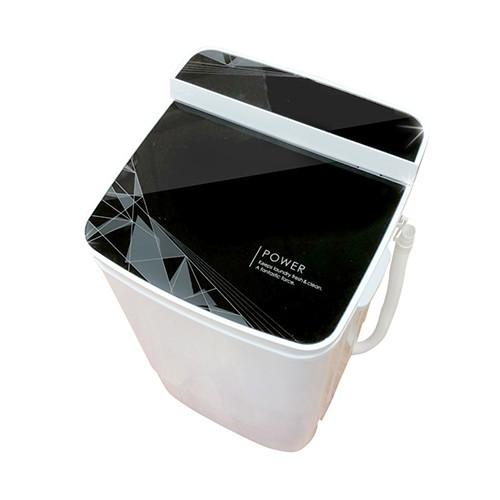 EDISON愛迪生二合一單槽5.8公斤洗衣機附加脫水功能/黑/福利品