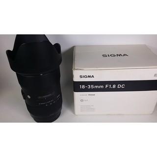 Sigma 18-35mm F1.8 DC HSM Art for Canon 外觀9成新 [50163744] 嘉義縣