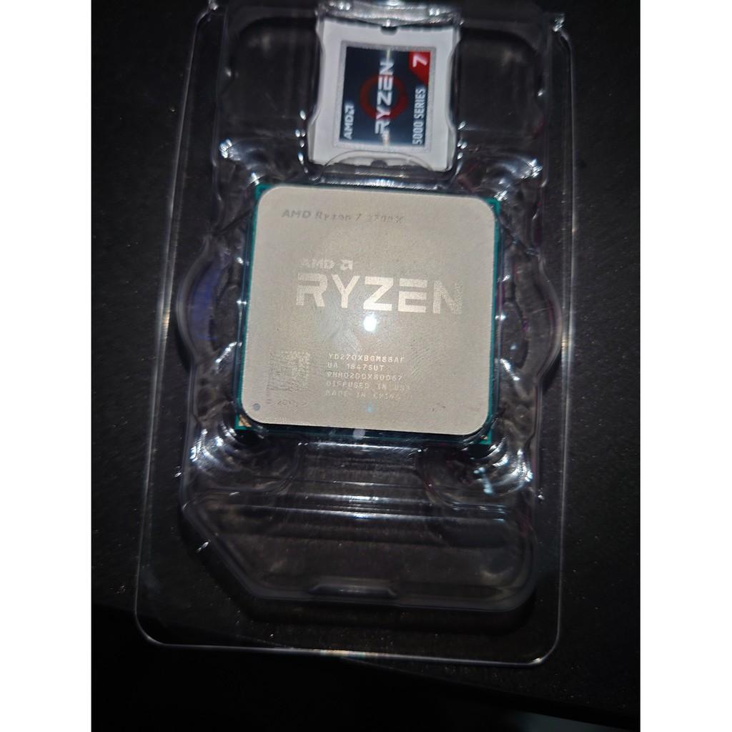 AMD Ryzen 7 2700X 有盒裝無風扇