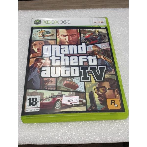 GTA4 俠盜獵車手4 美版 xbox360 xbox one series x 附地圖