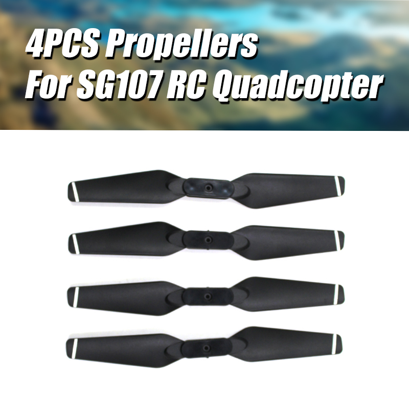 Rc Quadcopter Sg107 螺旋槳葉片備件, 用於 Rc 無人機 Sg107 主葉片