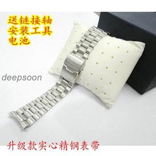 🎁🎀🎀適用于卡西歐手表MTP-1315D/ L MDV-102 WVA-320J男 表帶 鋼帶配件