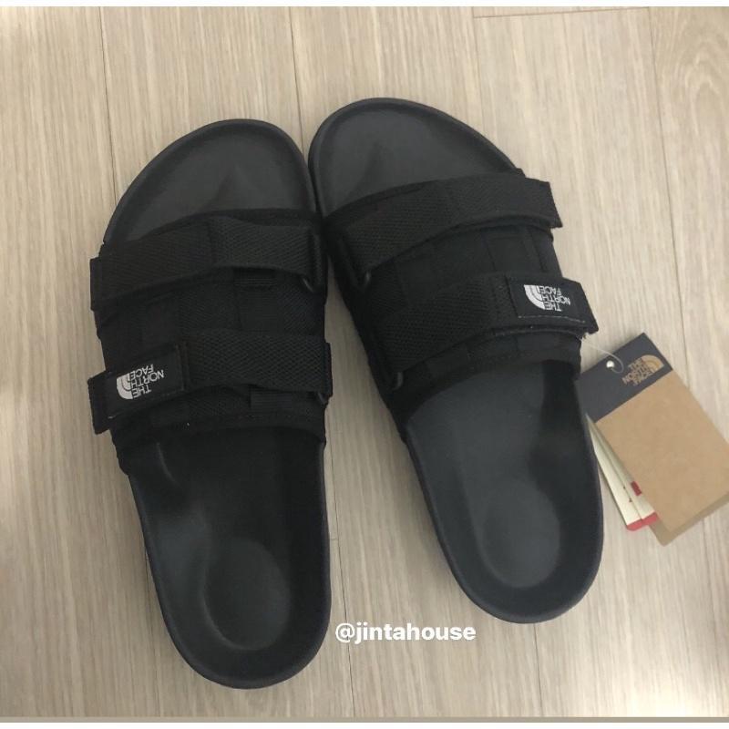THE NORTH FACE 拖鞋 WOVEN SLIDE EX 韓國代購 🇰🇷北臉 北面  黑/軍綠