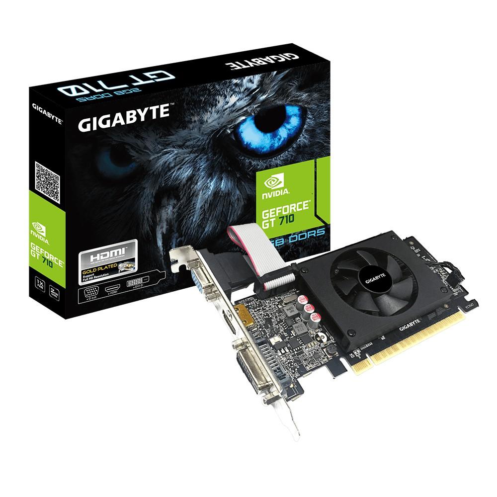 Gigabyte 技嘉 N710D5-2GIL GT710 2G DDR5 三介面 顯示卡