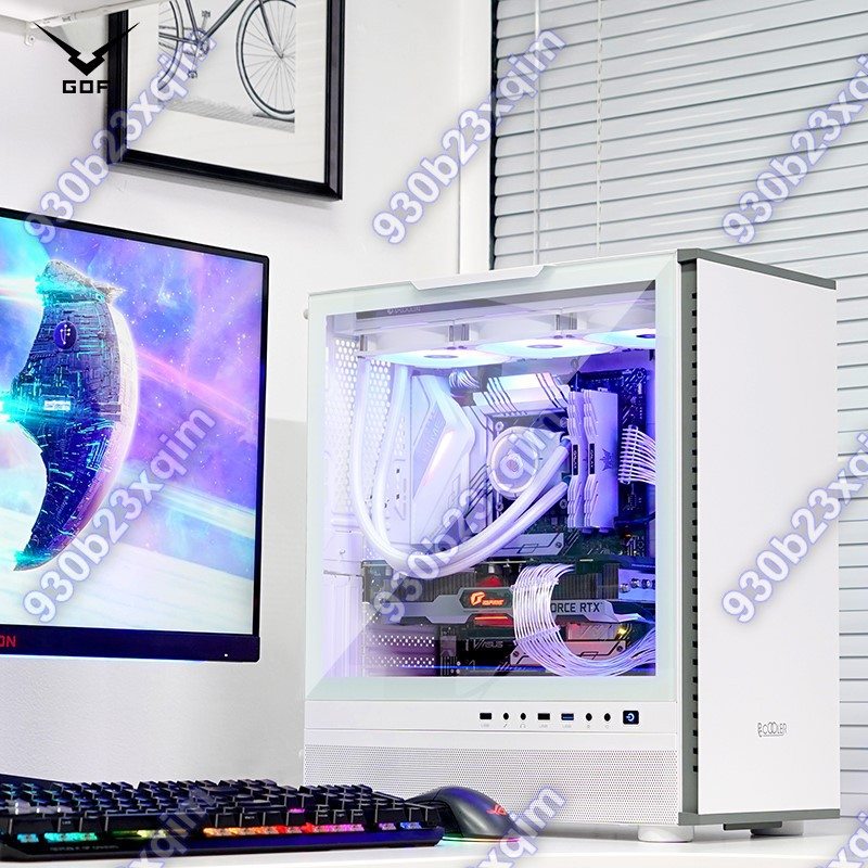 【高端電競】GOF i7 i9 11900F 10900K RTX3080Ti顯卡DIY水冷臺式主機