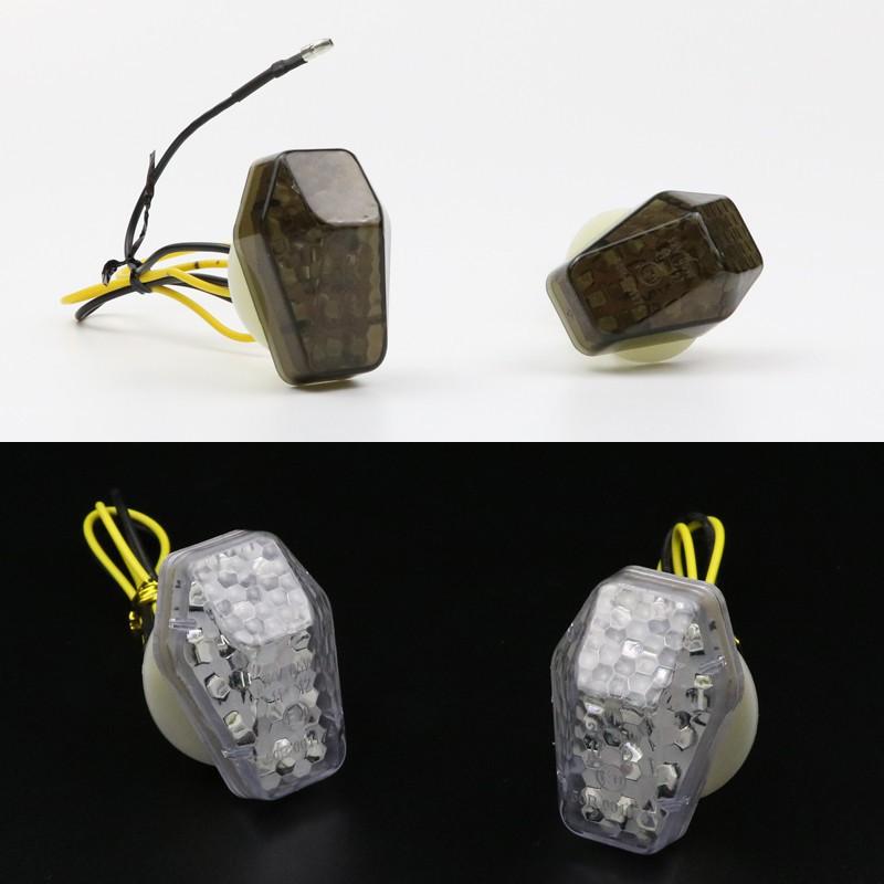 機車改裝轉向燈 鈴木摩托車方向燈 崁入式方向燈 LED轉向燈 服貼式方向燈 重機 檔車 R3 酷龍 MSX