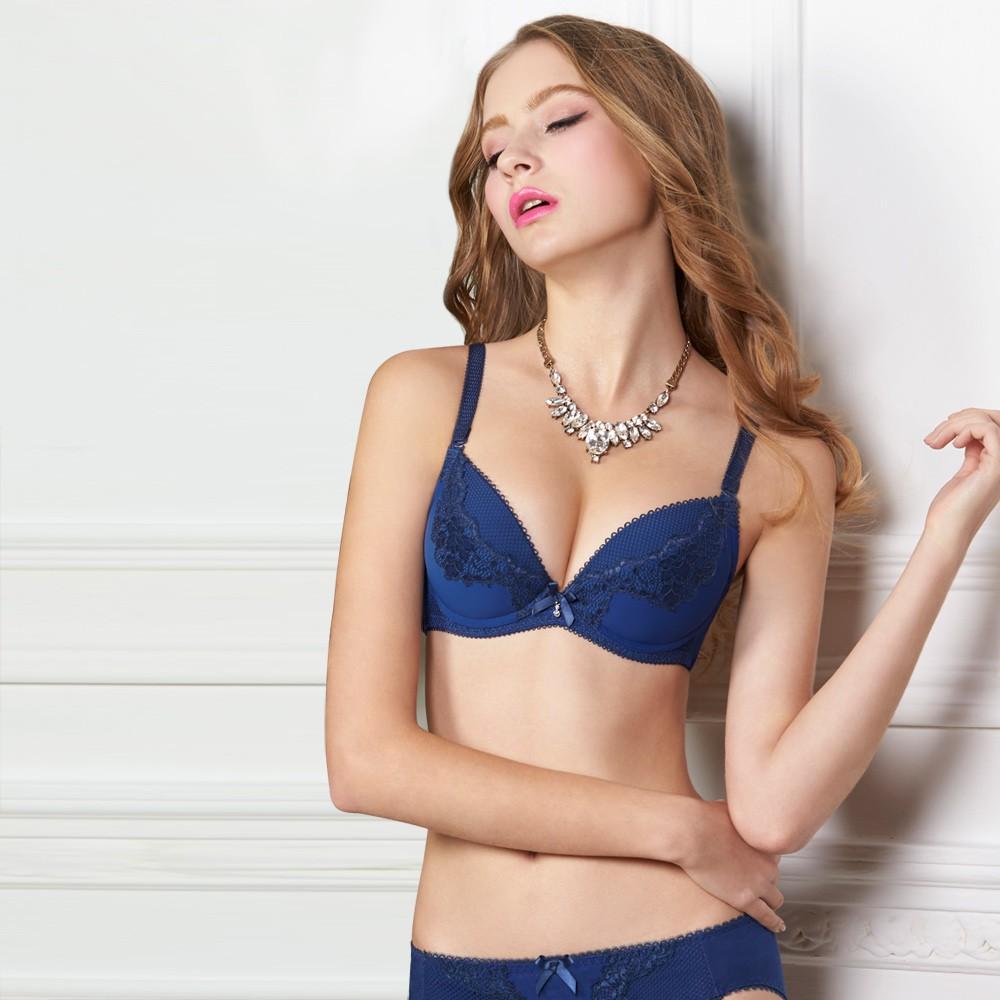 瑪登瑪朵 16SS-我挺妳軟棉圈內衣 A-F罩杯(古典藍)