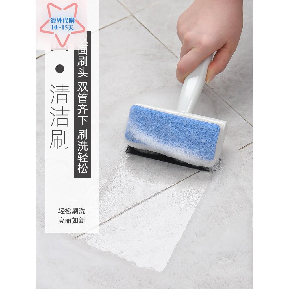 日本進口kokubo玻璃刮墻面瓷磚清潔刷浴室地板除垢刷子浴缸海綿擦03246C
