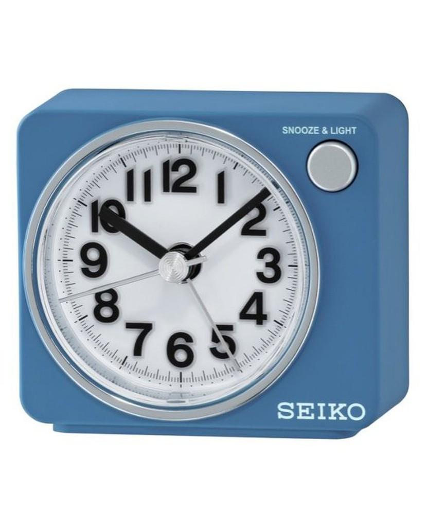 日本精工 SEIKOBB響聲LED照明靜音時鐘鬧鐘 QHE100 QHE100S.QHE100Y.QHE100L