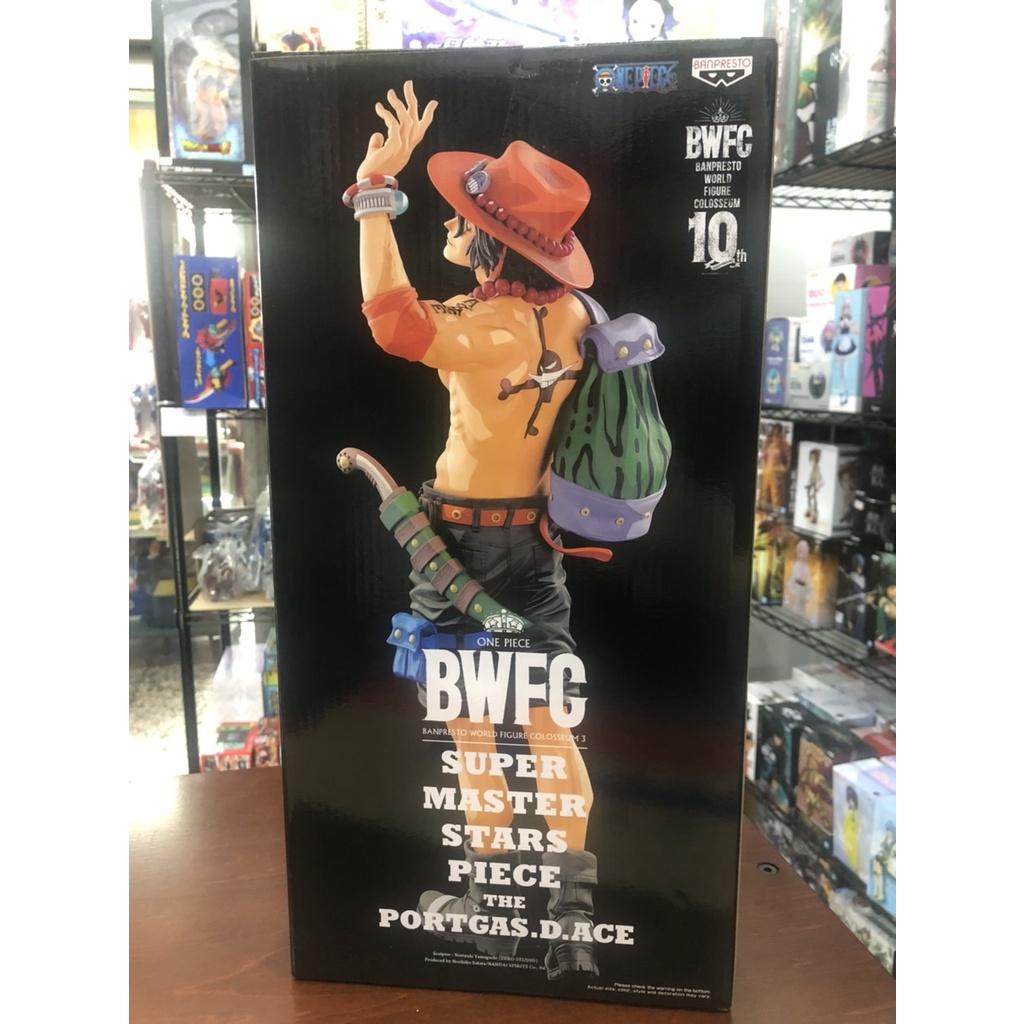 「代理現貨」景品 海賊王 BWFC 造型王頂上決戰3 SMSP 艾斯 2D配色
