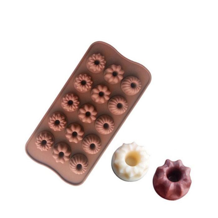 15連戚風造型巧克力模 模具 模型 情人節巧克力造型【DG264】