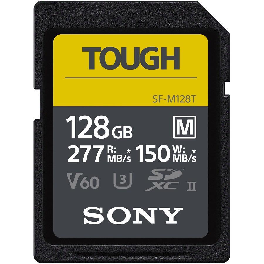 【SONY】SDXC U3 128GB 高速防水記憶卡 SF-M128T(公司貨)