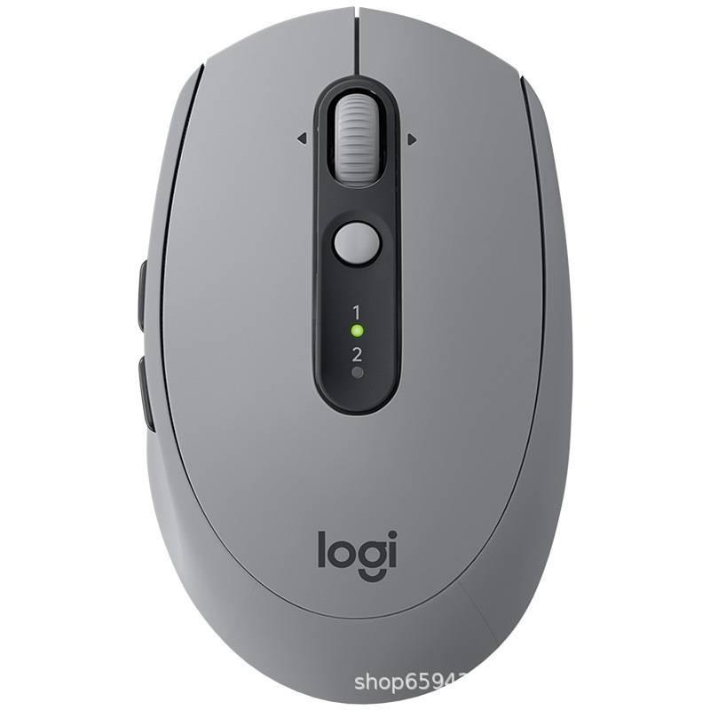 羅技(Logitech)M590無線藍牙商務辦公靜音鼠標 帶優聯接收器