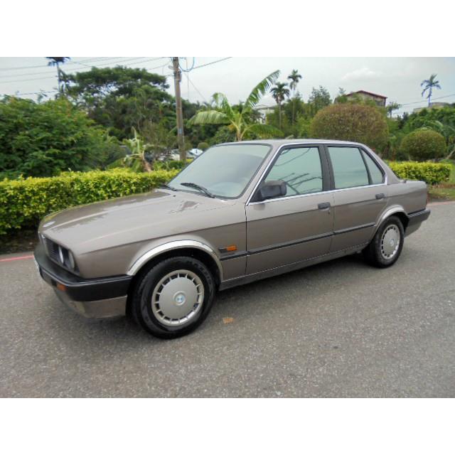 大昌汽車 二手車 中古車 嚴選 1988年式 BMW E30  318i 原廠手排車 保證全車原版件